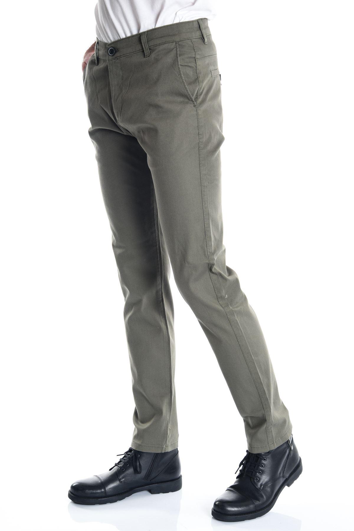 Haki Slimfit Chino Erkek Pantolon