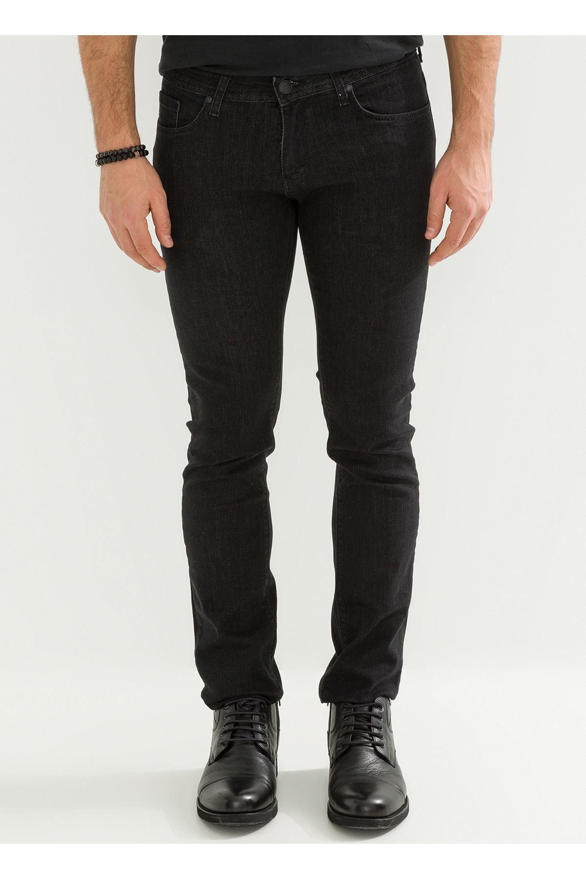 Füme Slim Fİt Erkek Kot Pantolon