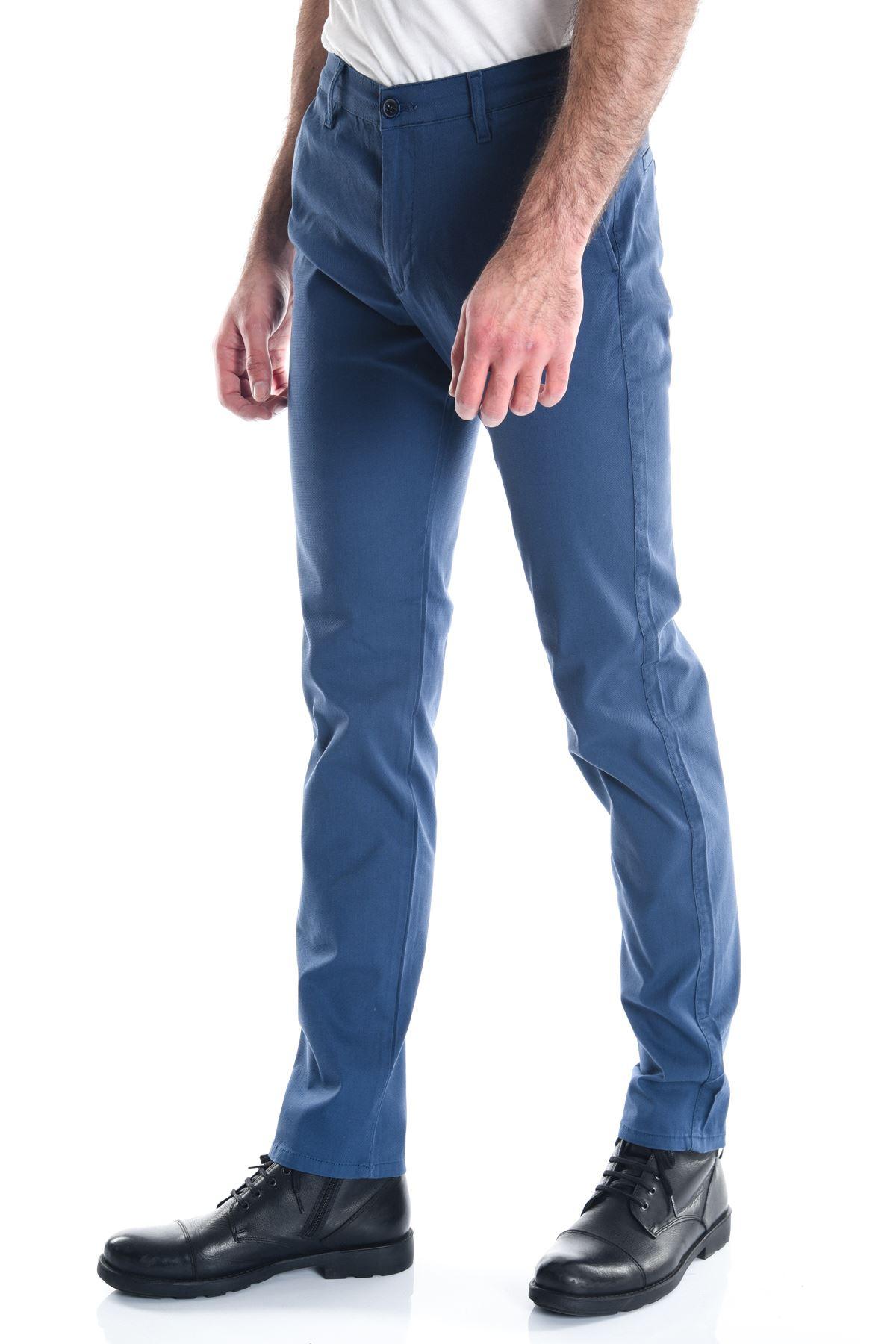 İndigo Slimfit Desenli Erkek Pantolon