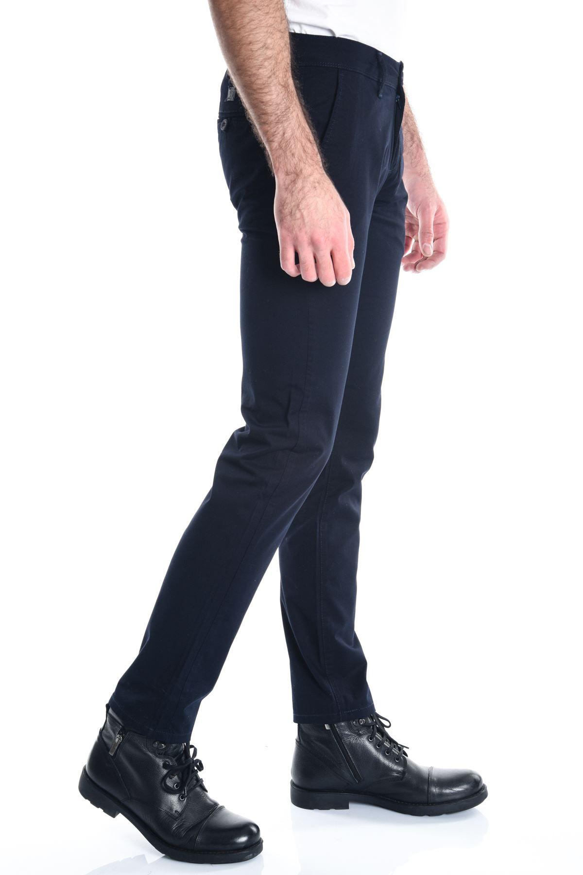 Lacivert Chino Slimfit Erkek Pantolon