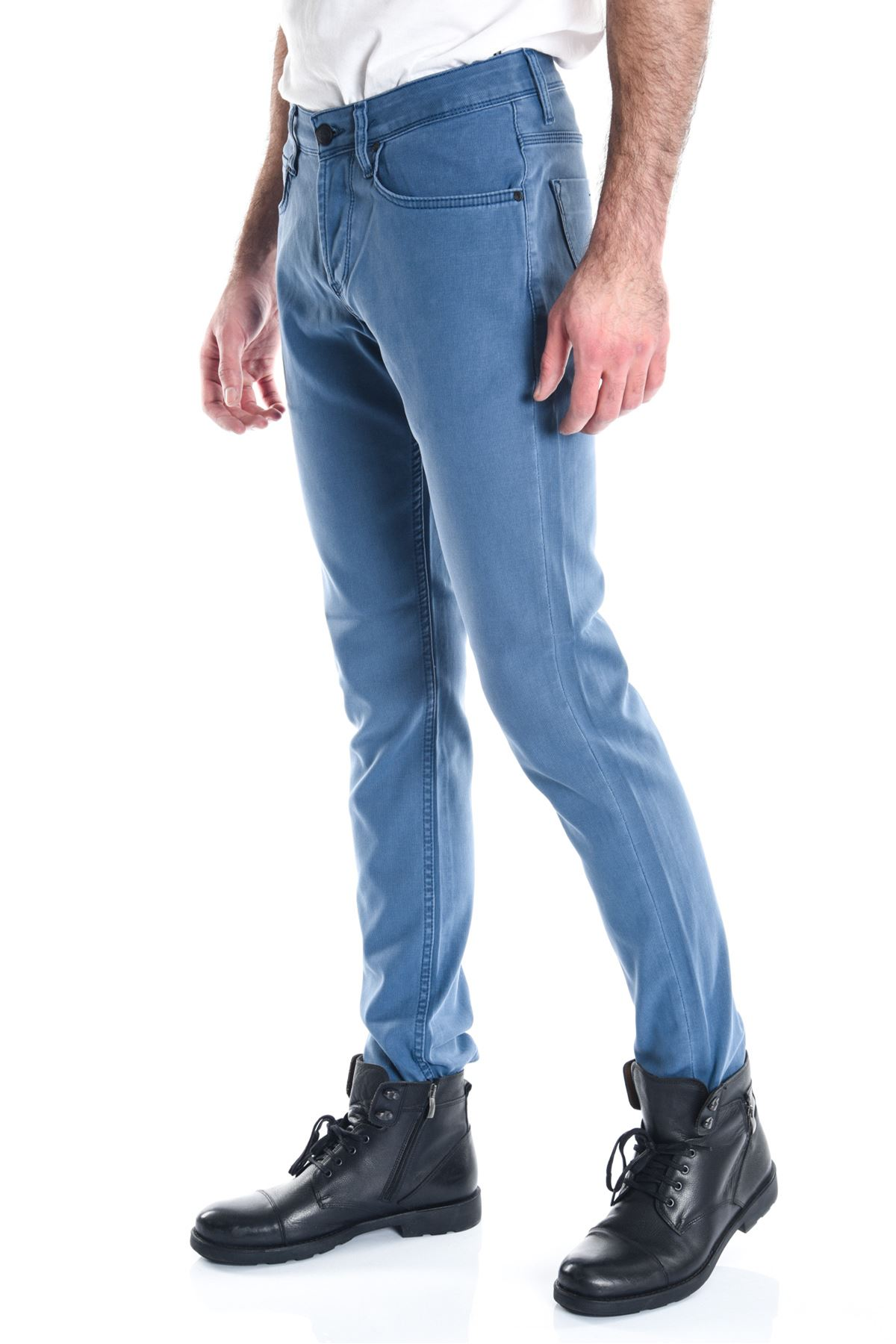 Pitikare Açık Mavi Slimfit Erkek Kot Pantolon
