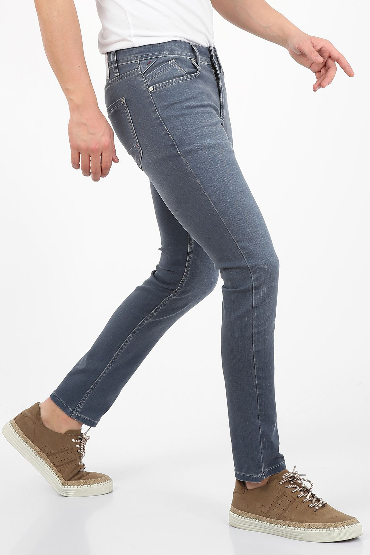 Mavi Slim Fit Fermuarlı Erkek Jeans Pantolon-JONAS